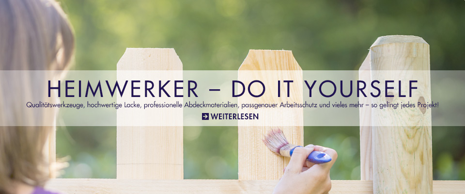 Heimwerker – Do it yourself